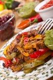 мексиканец тарелки Стоковая Фотография RF