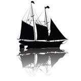 美丽的老船 免版税库存照片