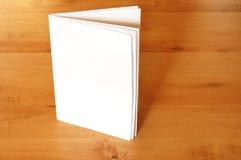 书空的纸张 免版税库存照片