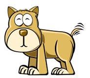 σκυλί κινούμενων σχεδίων Στοκ Εικόνα