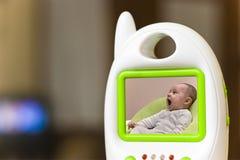 婴孩监控程序 免版税图库摄影