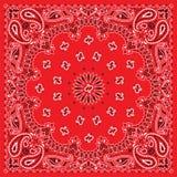 五颜六色的班丹纳花绸 免版税库存照片