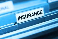 文件保险 免版税图库摄影