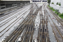 железные дороги Стоковое Фото