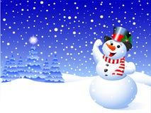 Снеговик Стоковая Фотография RF