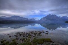 гора озера Стоковое Изображение RF