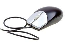 接近的计算机白色的查出的鼠标 免版税库存图片