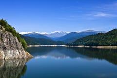 βουνά λιμνών Στοκ Εικόνες
