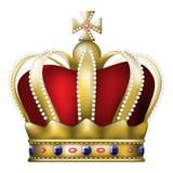 冠 皇族释放例证