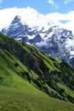 横向瑞士 库存图片