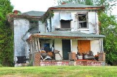 残破的房子 库存图片