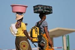 莫桑比克妇女 库存照片