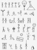 εικονογράμματα Στοκ εικόνα με δικαίωμα ελεύθερης χρήσης