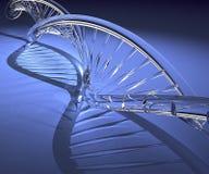 脱氧核糖核酸玻璃设计 库存图片