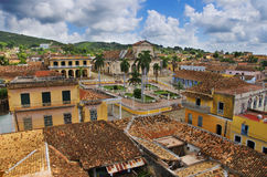 古巴城镇特立尼达 免版税库存图片