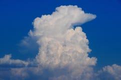 云彩积雨云 库存照片