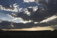 драматические небеса Стоковые Изображения