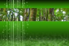全景设计深绿色插页现代的掌上型计&# 库存照片