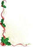 падуб рождества граници Стоковое Изображение RF