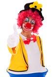 滑稽的小丑 库存图片
