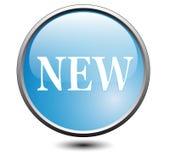 κουμπί νέο Στοκ εικόνα με δικαίωμα ελεύθερης χρήσης