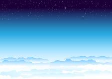 天空空间 库存图片