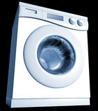 用机器制造洗涤 免版税图库摄影