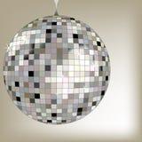 диско шарика черное Стоковое Изображение