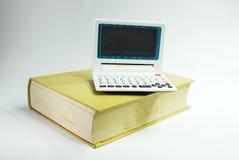 电子的词典 免版税库存照片