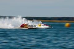 быстроходный катер гонки Стоковые Изображения