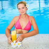 απολαύστε το χυμό Στοκ φωτογραφία με δικαίωμα ελεύθερης χρήσης