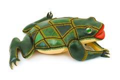 青蛙玩具 免版税库存照片