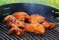 Жечь цыпленка Стоковое Изображение RF