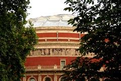 阿尔伯特大厅皇家的伦敦 图库摄影