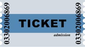 билет входа Стоковое Изображение RF