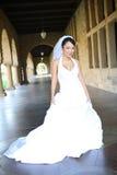 азиатская невеста довольно Стоковые Изображения RF
