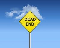 мертвый конец Стоковое Фото