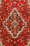 地毯五颜六色的印地安人 库存照片