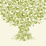 花卉结构树 库存图片