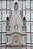中央寺院佛罗伦萨意大利 库存照片