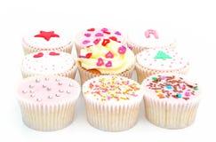 可口的杯形蛋糕 免版税库存照片