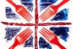 英国食物 免版税库存照片