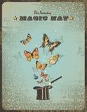 καπέλο μαγικό Στοκ φωτογραφία με δικαίωμα ελεύθερης χρήσης