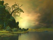красивейший ландшафт Стоковая Фотография