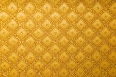 抽象金墙纸 免版税库存照片