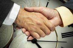 企业概念货币时间 库存图片