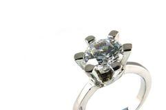 μεγάλο δαχτυλίδι κρυστά& Στοκ Φωτογραφίες