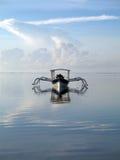 巴厘岛小船 免版税库存图片
