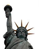 查出的自由雕象 库存照片