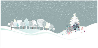 древесины рождества Стоковые Фото
